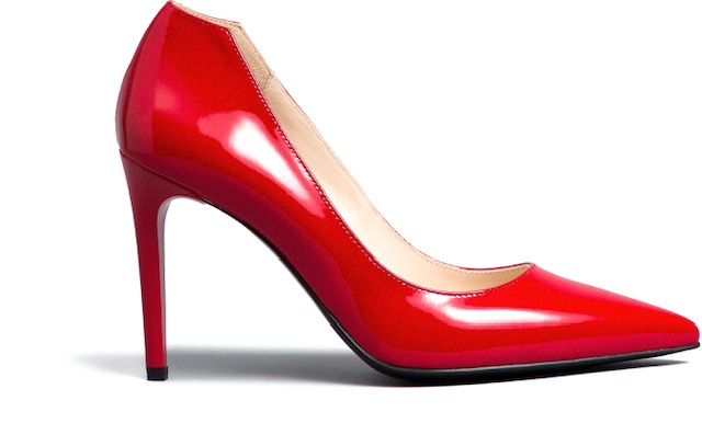 NeroGiardini Red Patent Leather Stilettos