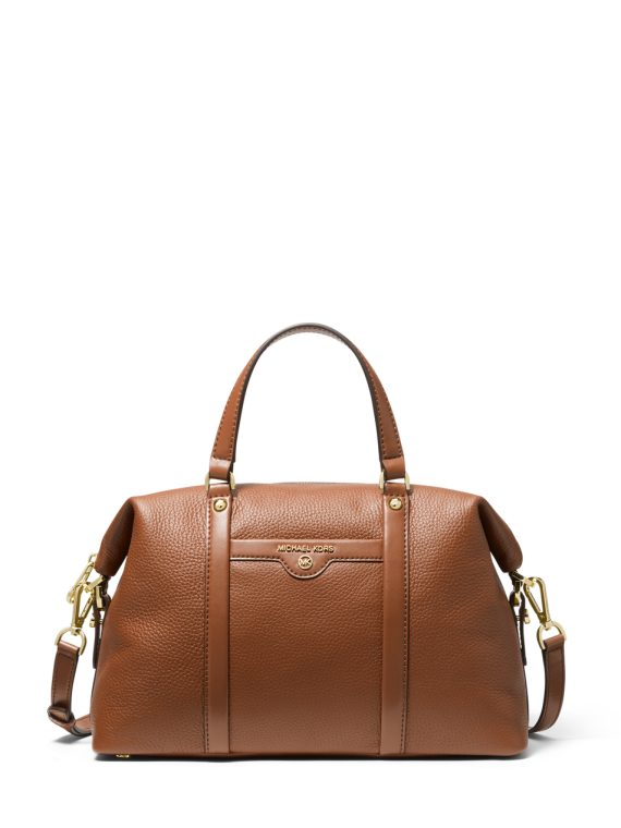 Michael Michael Kors Beck MD Satchel in Luggage