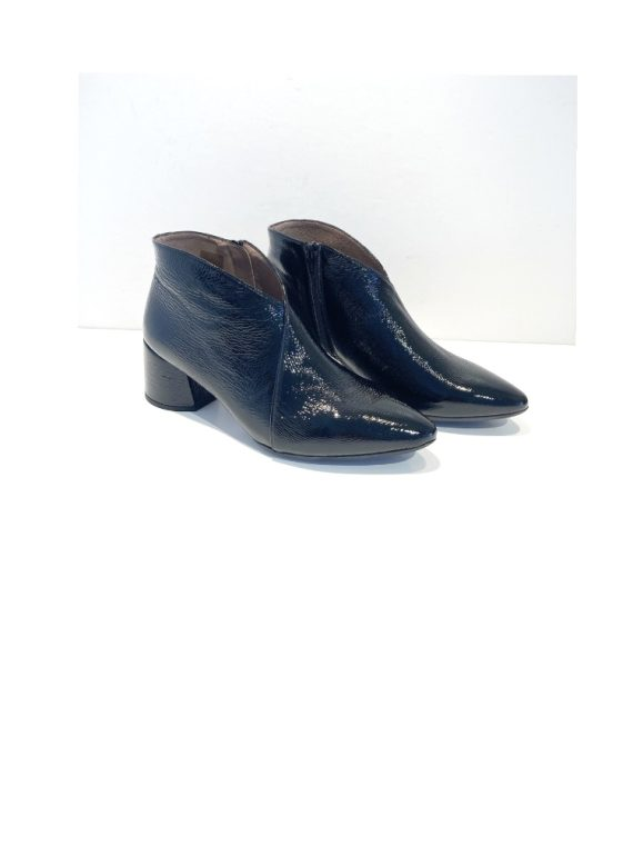 Wonders Black Patent Pointed Boots