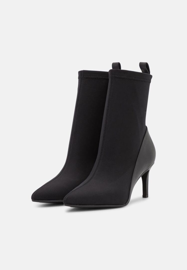 Calvin Klein Black Sock Ankle Boot
