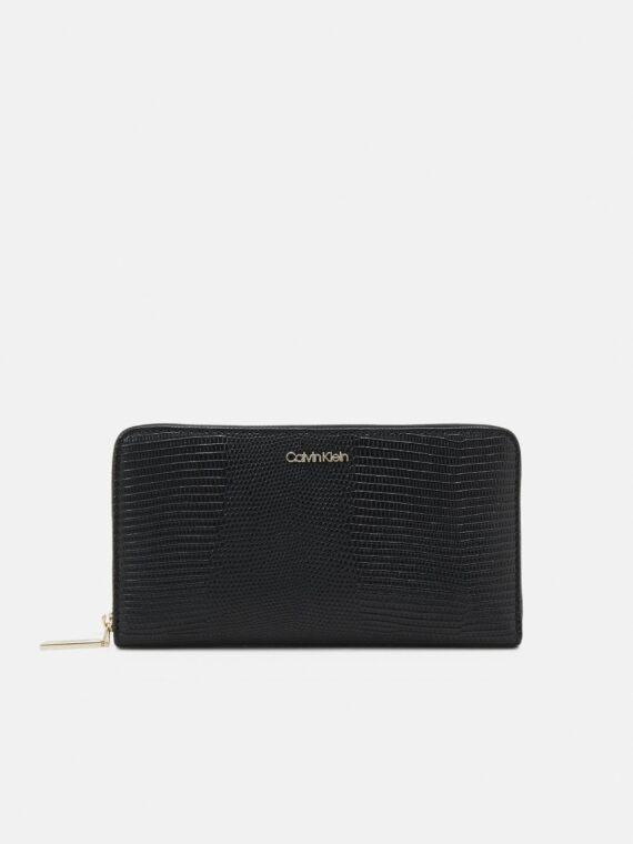 Calvin Klein Must Wallet XL Lizard in Black