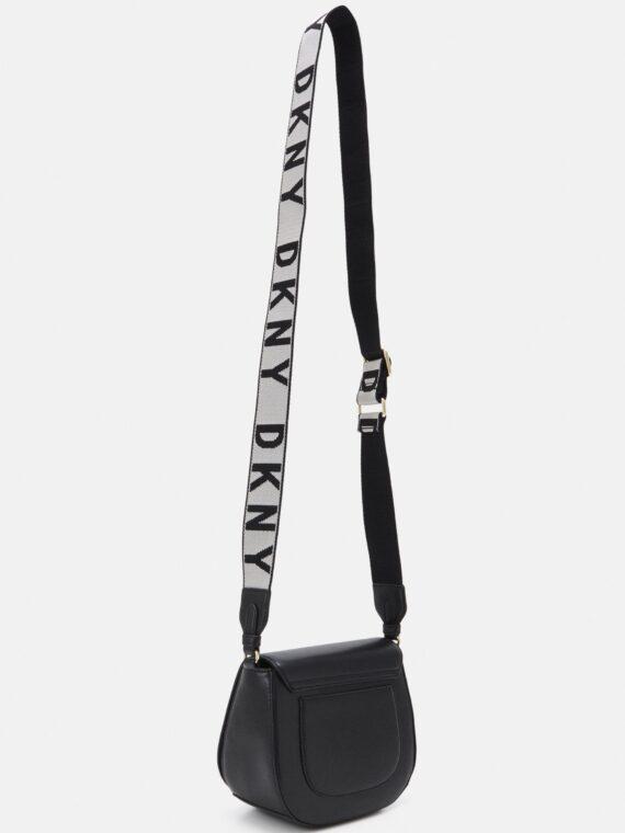 DKNY Winonna Saddle Bag in Black