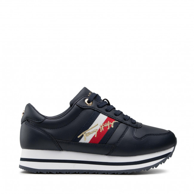 Tommy Hilfiger Signature Sneaker in Navy