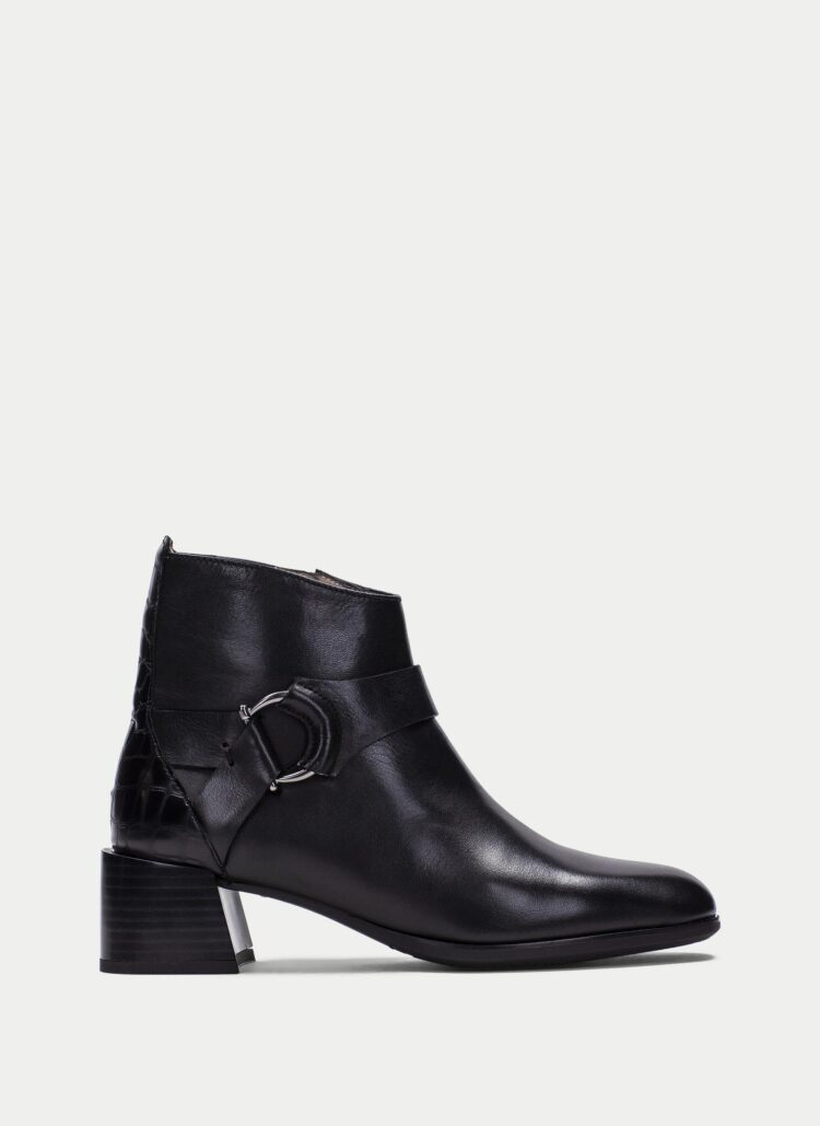 Hispanitas Alexa Black Ankle Boots