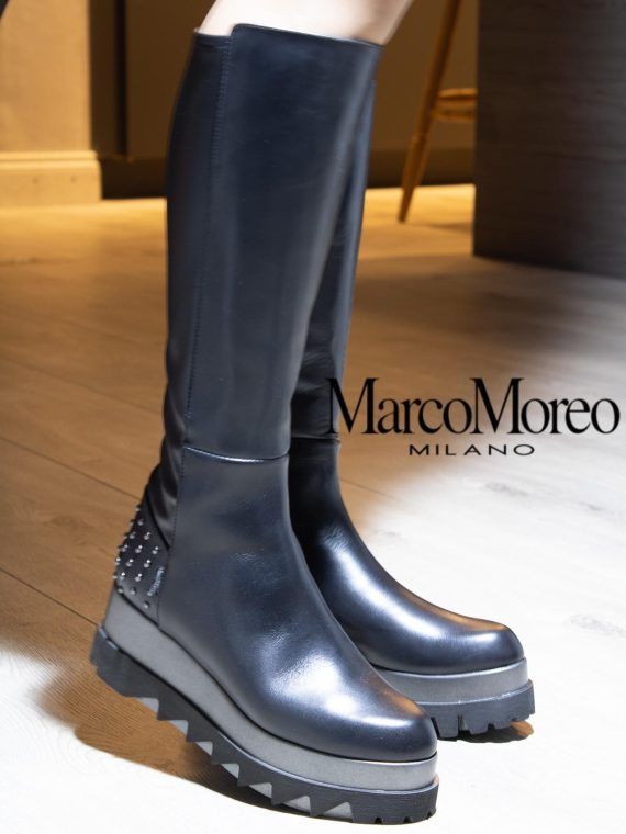 Marco Moreo Wedge Long Boot 1