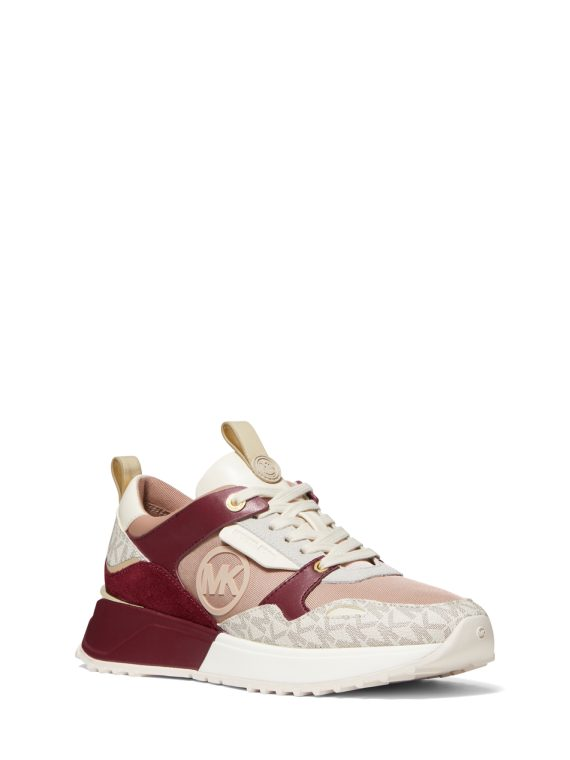 Michael Michael Kors Theo Trainer in Fawn