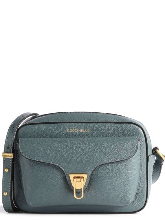 Coccinelle Small Beat Crossbody in Shark Grey
